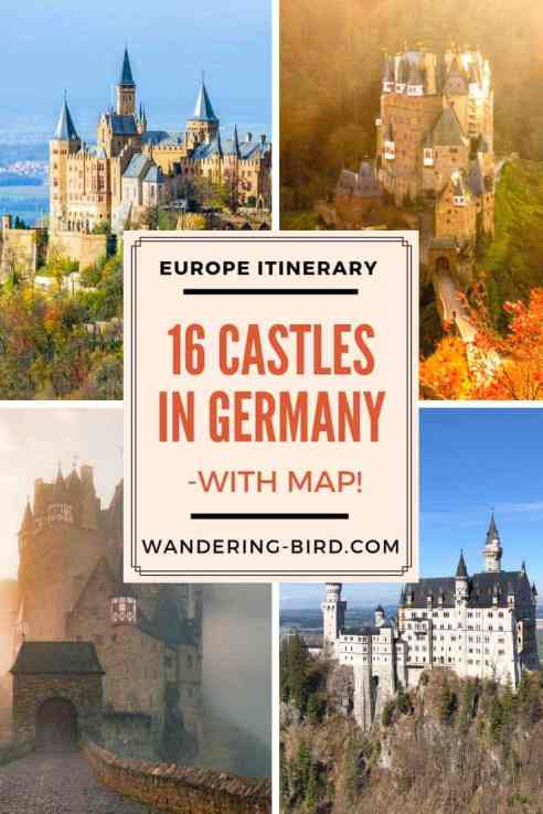 16 Amazing Fairytale Castles In Southern Germany With Map