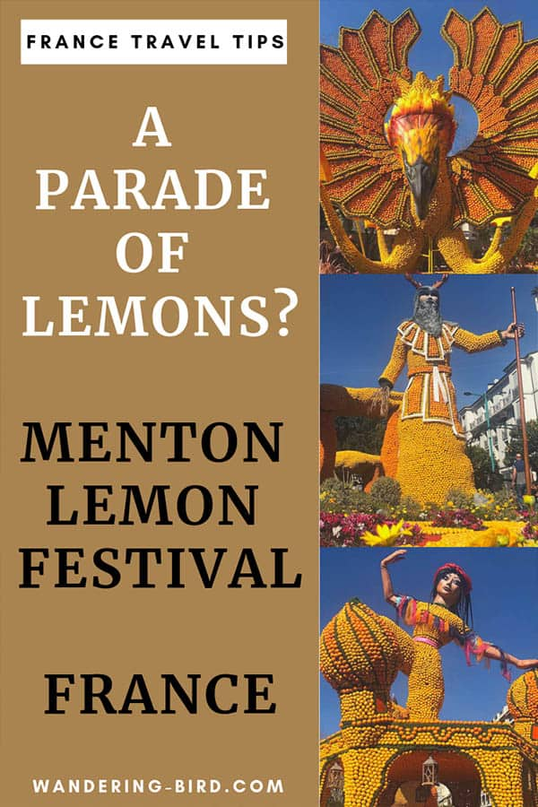 A festival of lemons? In France? Yep- the Menton Lemon Festival is pretty unique. Here are the best tips and advice on how to visit Menton for the lemon festival. #menton #france #traveltips