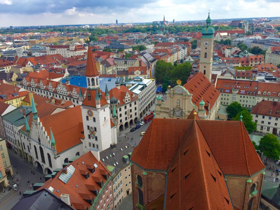 Munich City travel
