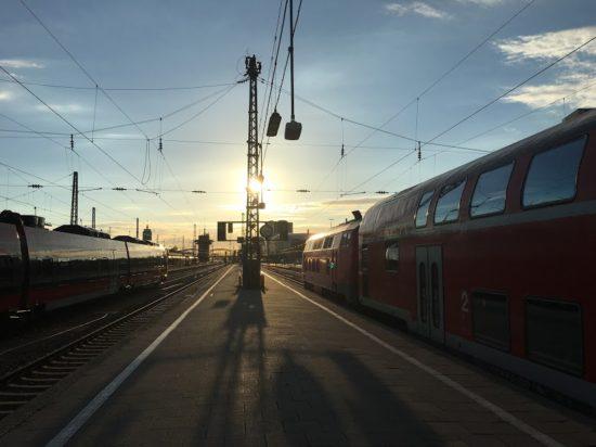 Munich Central Hbf Wandering Chocobo