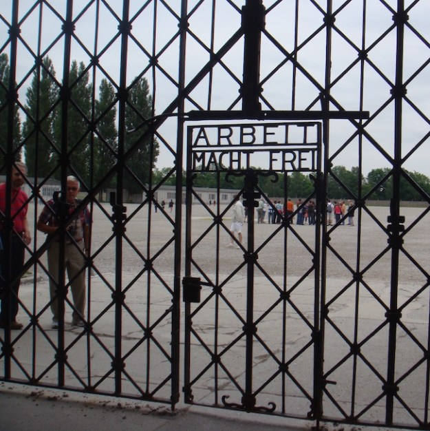Day trip to Munich to Dachau Memorial Entrance