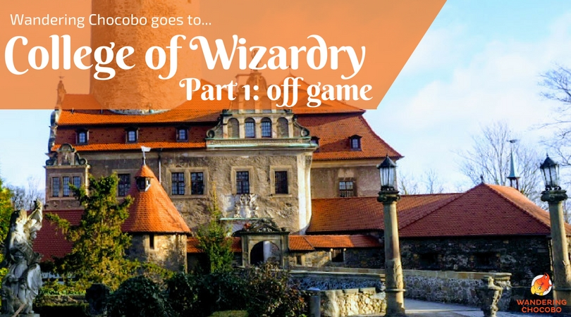 Wandering Chocobo Goes to College of Wizardry LARP: Part 1 Intro