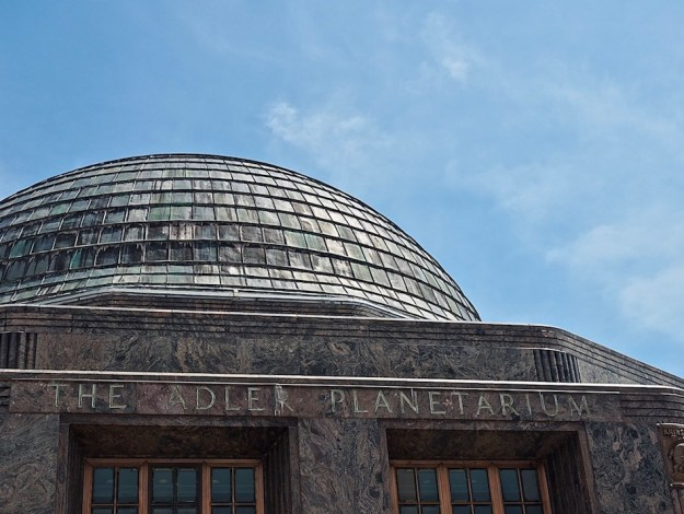 Adler Planetarium Geeky things to do in Chicago