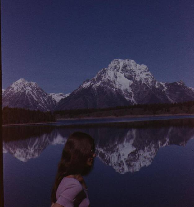 Grand Tetons National Park in the 70s