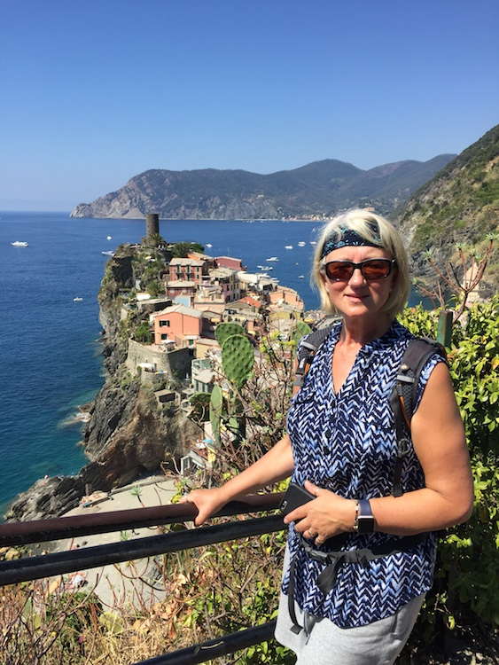 Hiking Cinque Terre, Italy.