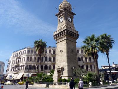 Clocktower in Aleppo, Syria