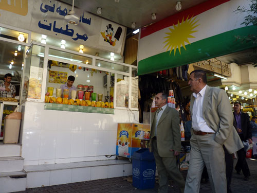 Juice Stand in Erbil, Iraq