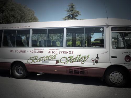 Groovy Grape Tour, Adelaide, South Australia
