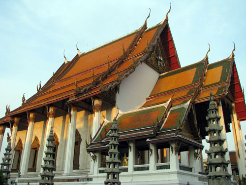 Buddhist Temple in Bangkok