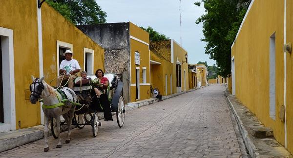 Izamal, Yuctan, Mexico