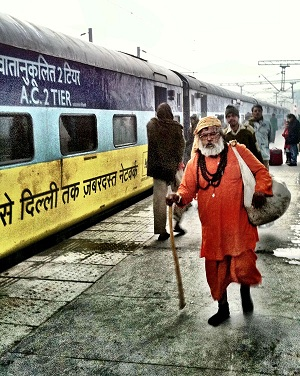 Indian Railway - New Delhi Train Station