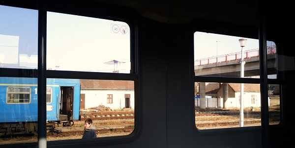 Sibiu, Romania, Train Station
