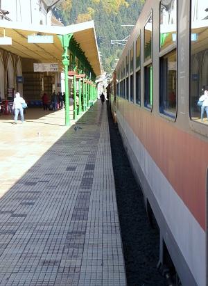 Train in Romania
