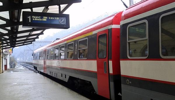 Train to Sibiu