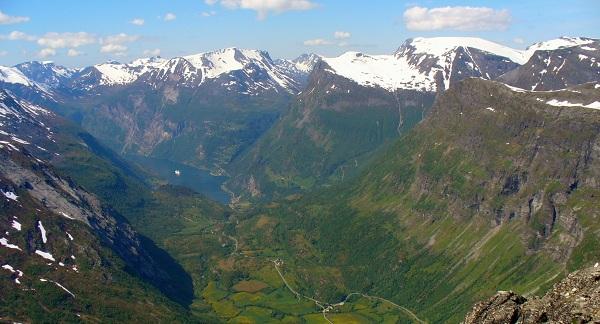 Gerainger Fjord, Norway
