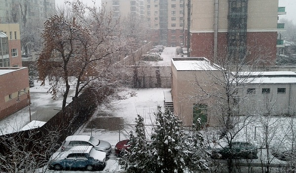 Eastern European Winter - Bucharest