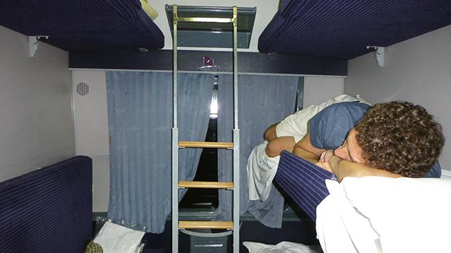 Train from Bucharest to Timisoara