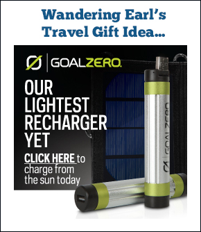 Solar Power Travel Charger