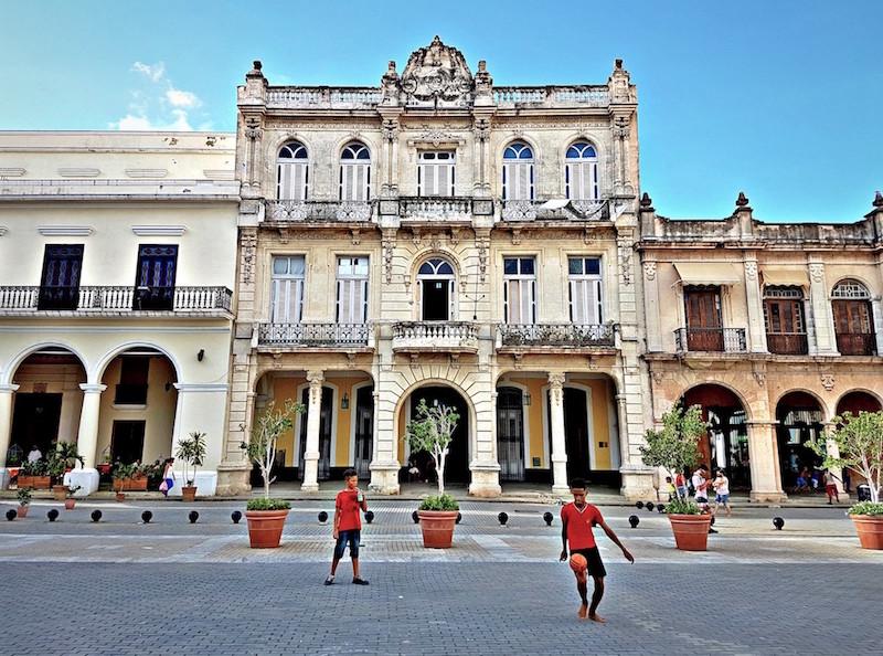 Trip to Cuba - Plaza Old Havana