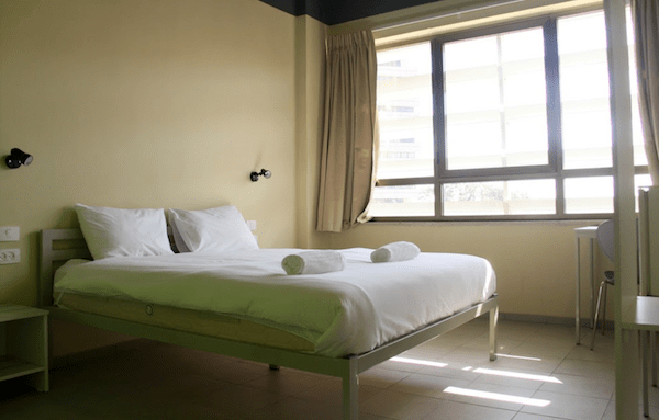 Best hostel in Tel Aviv - room
