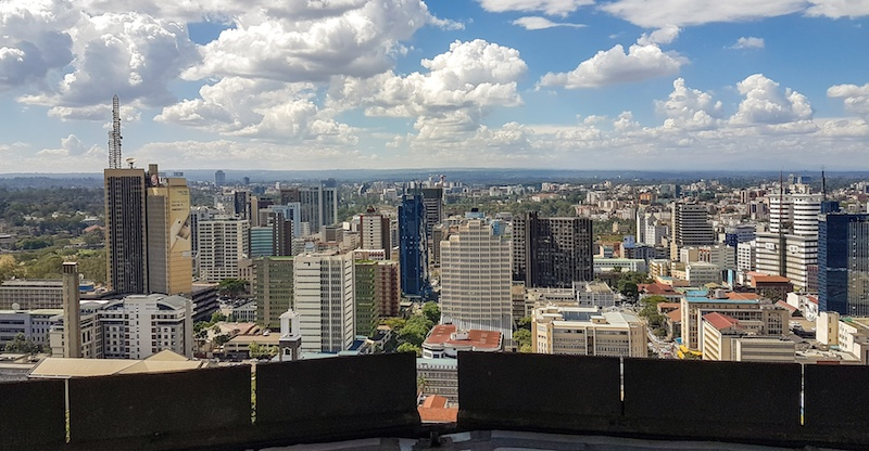 Visit Nairobi - city view from above