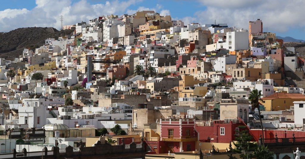 5 Weeks in Las Palmas - hillside view