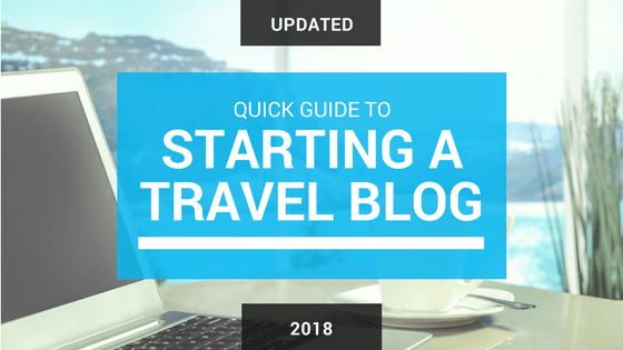 Guide to starting a travel blog