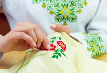 embroidery creative hobby for moms