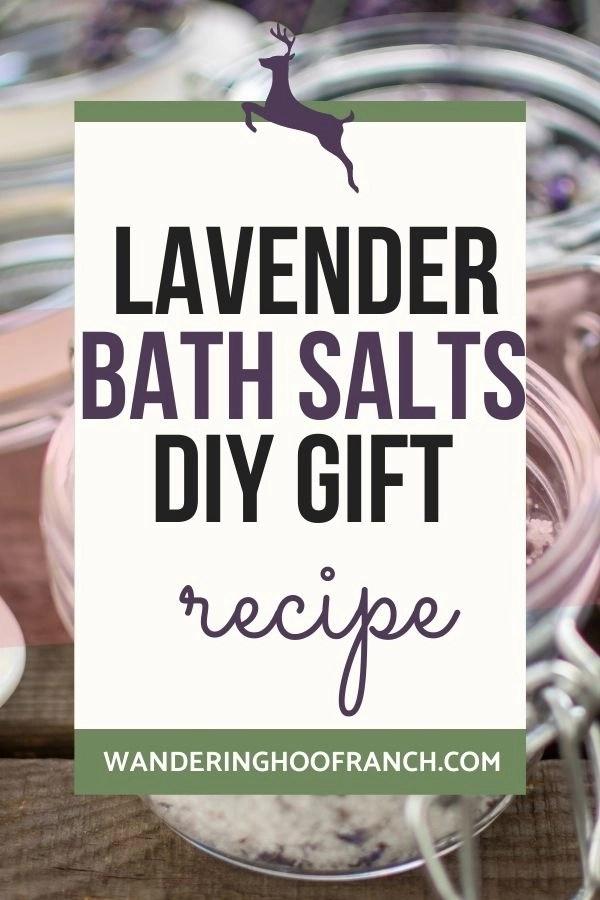 how to make bath salts pin image