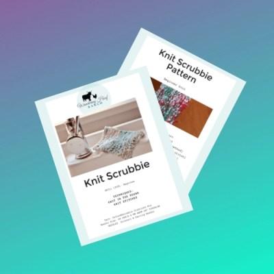 knit scrubby