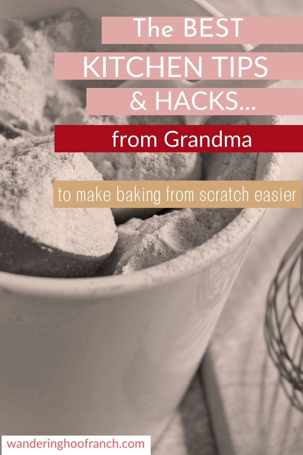 baking from scratch pin image