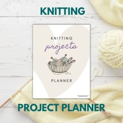 knitting projects planner