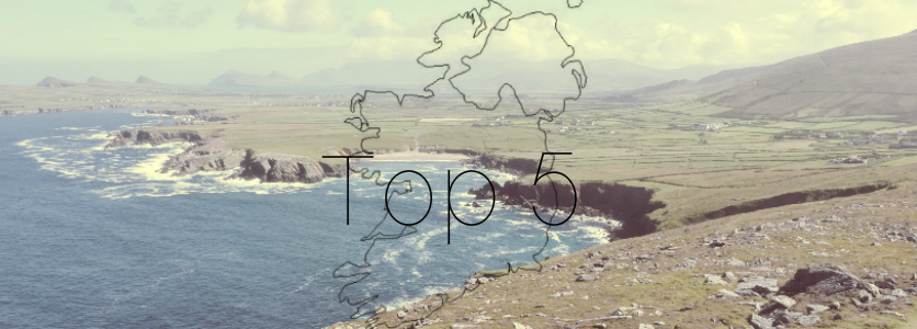 Northern Ireland and the Republic of Ireland Top 5