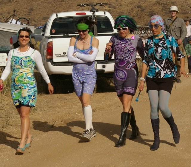 a womens team at the 24 hours in the old pueblo