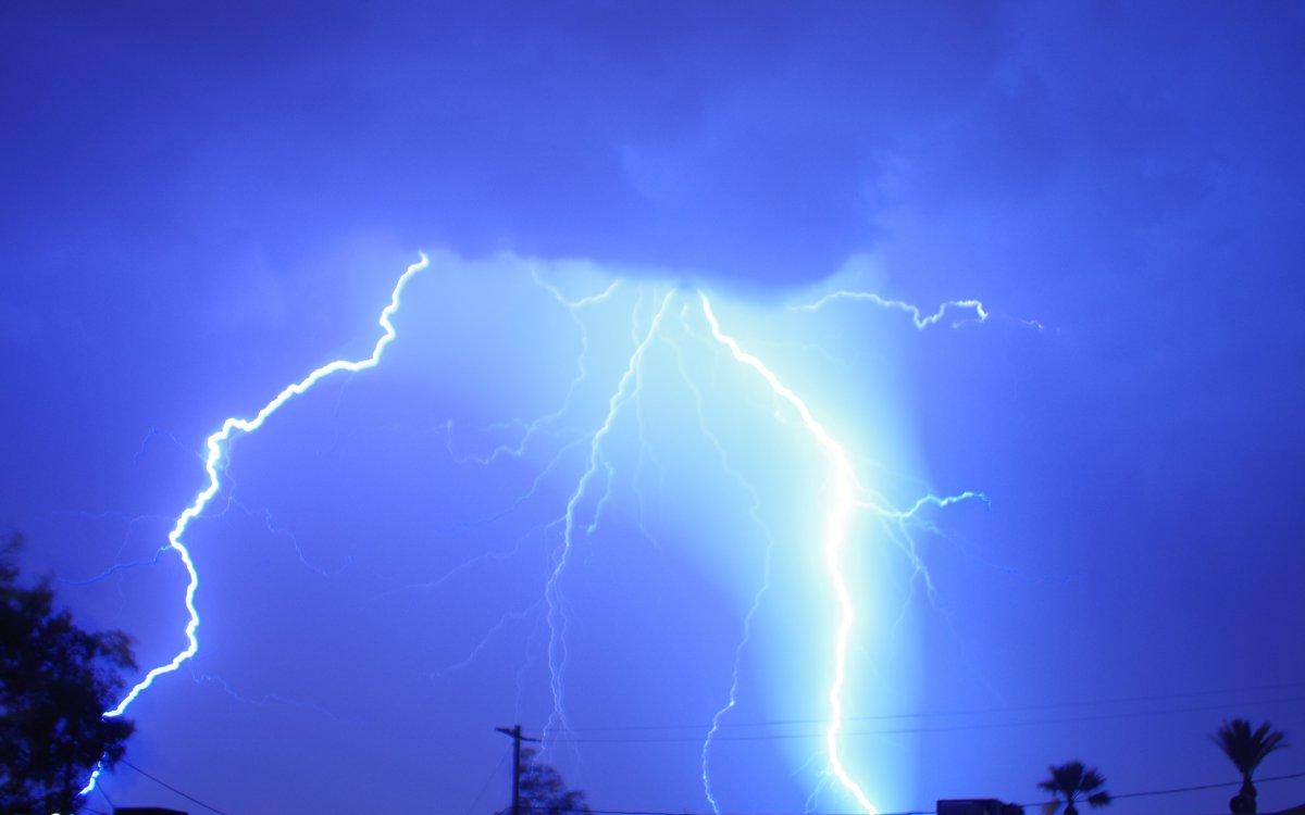 Lightning Over Scottsdale