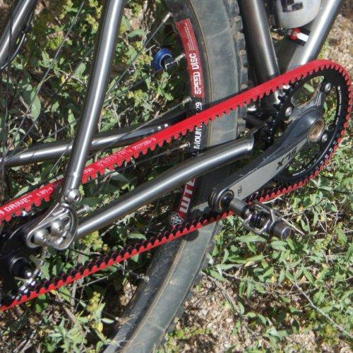 titanium bike