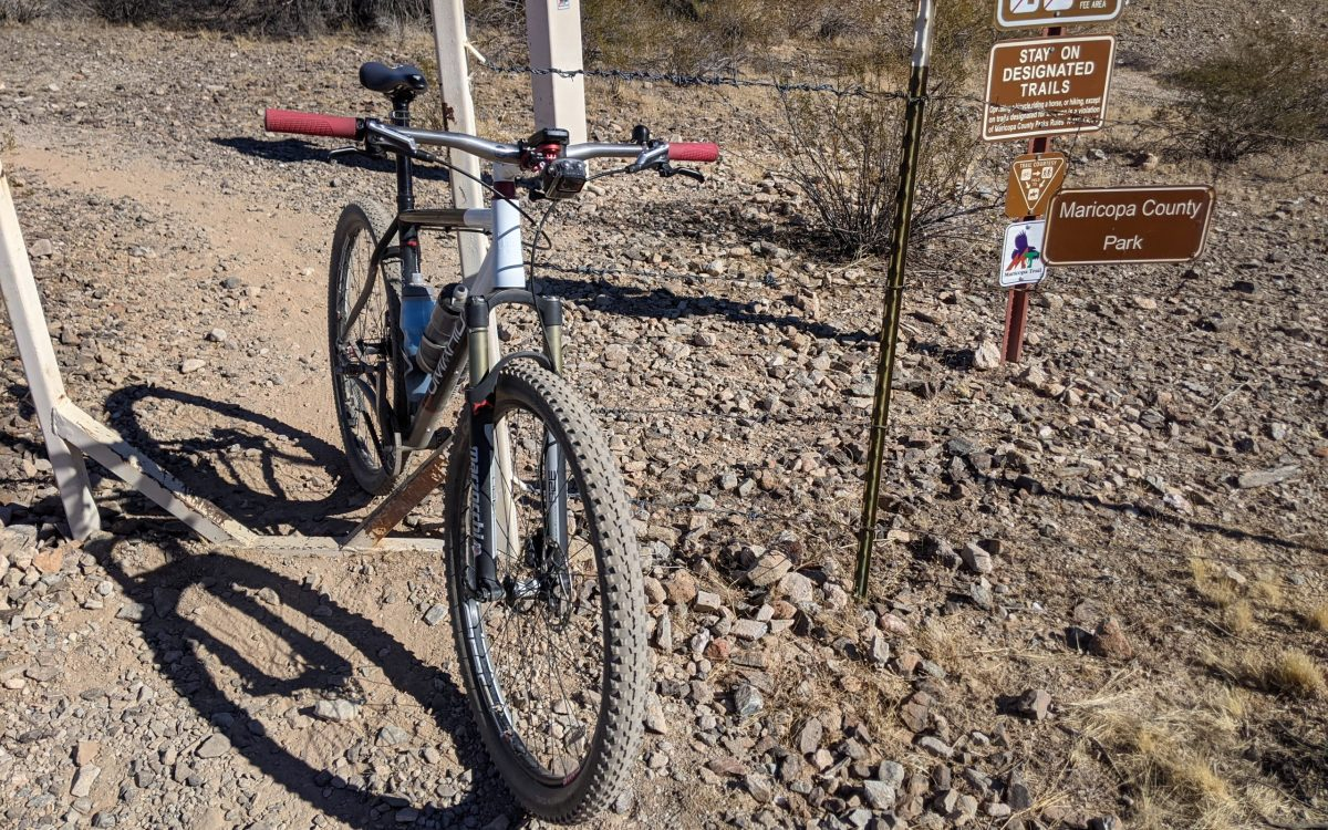 Recap: Mountain Biking in the Estrella Mountains