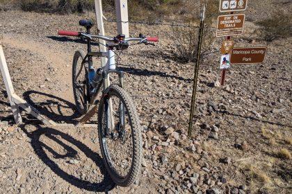 Mountain Biking in the Estrella Mountains