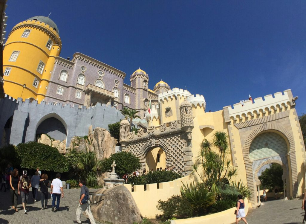 Pena Palace Sintra Portugal Wanderingredhead