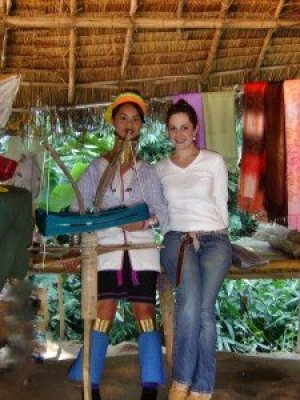 Ethnic Karen woman in northern Thailand