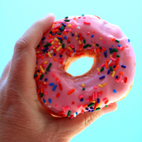 Donuts ~ Photo by Pink Sherbet Photography