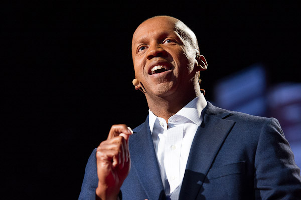 Bryan Stevenson - Photo by James Duncan Davidson
