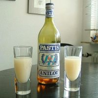 Why pastis (ouzo & absinthe) turns cloudy in water