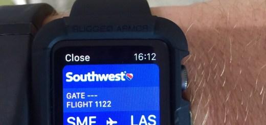 Southwest Apple Watch Boarding Pass