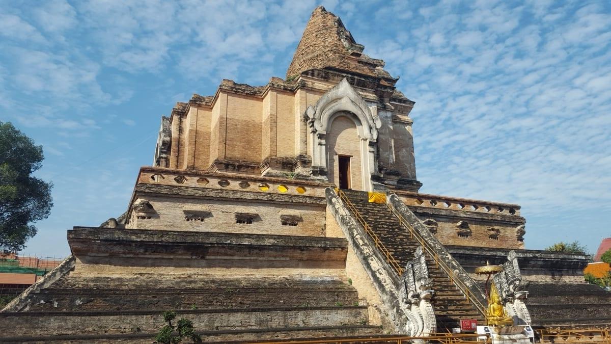 Wat Chedi Luang in Chiang Mai