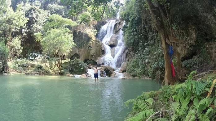 Kuang Si Waterfall near Luang Prabang