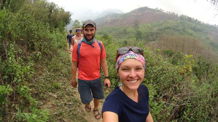 The 100 Waterfall Hike in Nong Khiaw