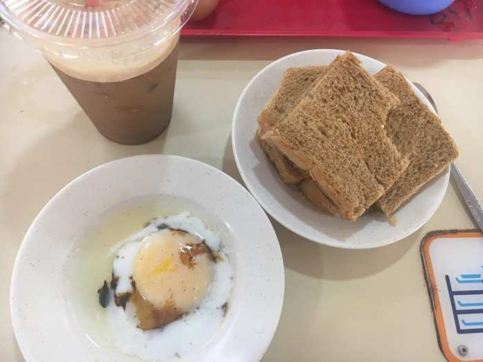 Singapore traditional breakfast