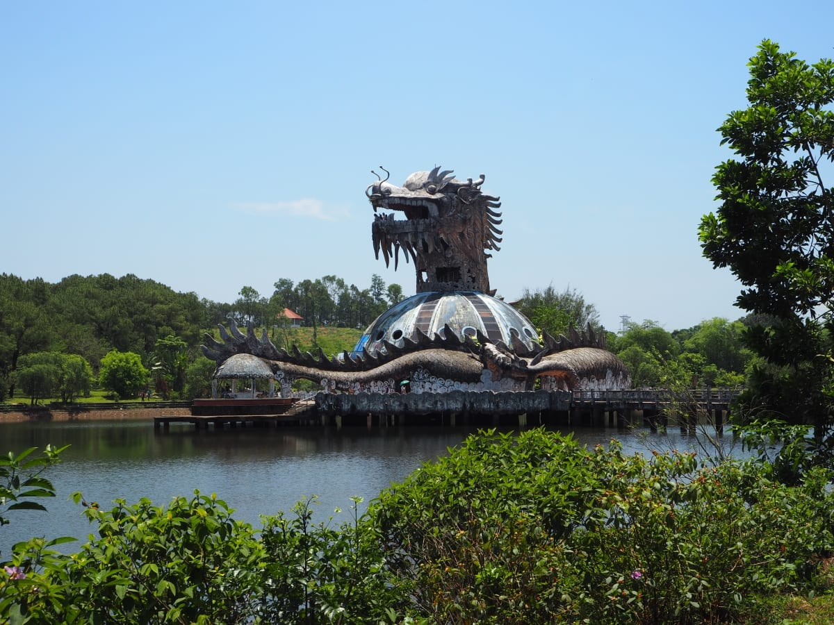 How to Get to Hue, Vietnams Abandoned Waterpark and Enter For Free