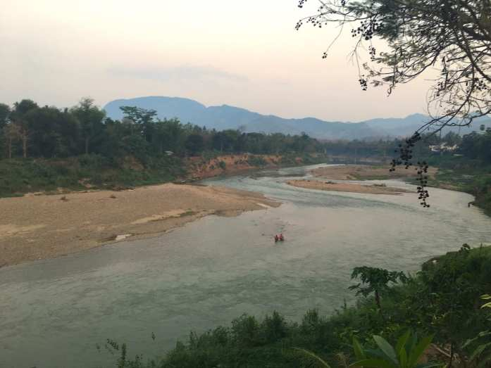 Nam Khan in Luang Prabang